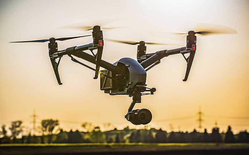 Luftaufnahmen mit Drohne, OLS Media